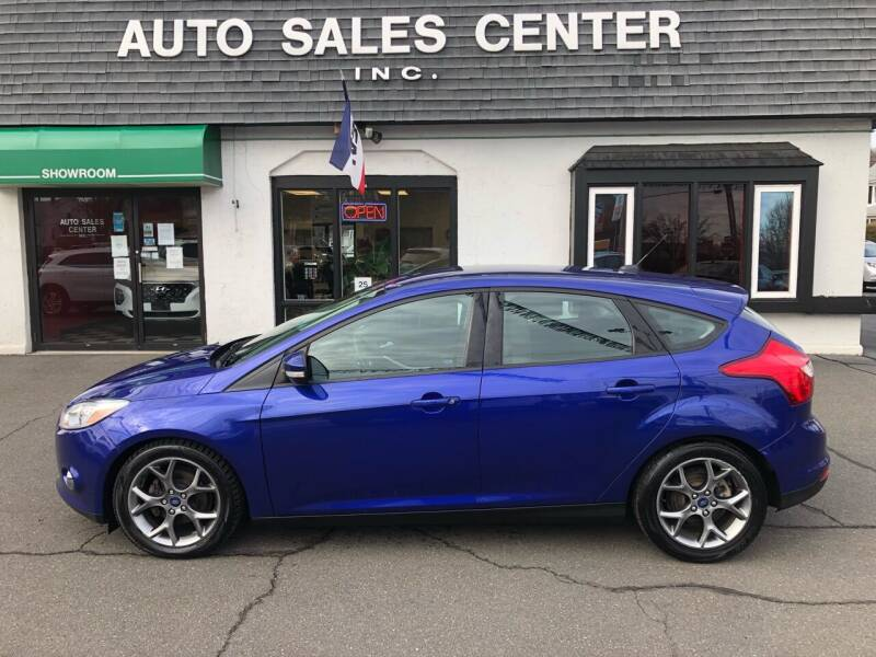 2014 Ford Focus for sale at Auto Sales Center Inc in Holyoke MA