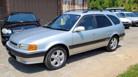 1996 Toyota Corolla Sprinter Caribe 4x4 for sale at Postal Cars in Blue Ridge GA