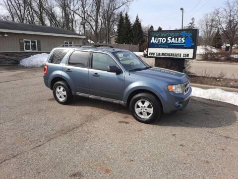 2010 Ford Escape for sale at Lake Michigan Auto Sales & Detailing in Allendale MI
