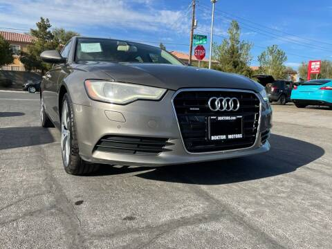2013 Audi A6 for sale at Boktor Motors in Las Vegas NV