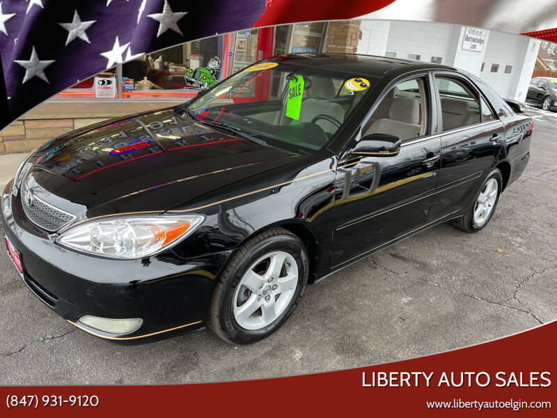 2004 Toyota Camry for sale at Liberty Auto Sales in Elgin IL