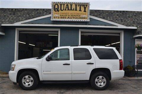 2009 Chevrolet Tahoe for sale at Quality Pre-Owned Automotive in Cuba MO