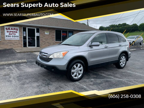 2008 Honda CR-V for sale at Sears Superb Auto Sales in Corbin KY