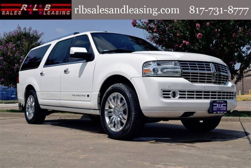 2014 Lincoln Navigator L for sale at RLB Sales and Leasing in Fort Worth TX