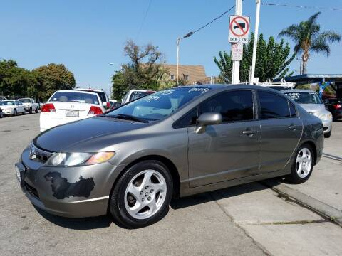 2007 Honda Civic for sale at Olympic Motors in Los Angeles CA