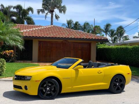 2011 Chevrolet Camaro for sale at Citywide Auto Group LLC in Pompano Beach FL