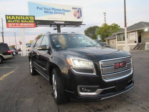 2015 GMC Acadia for sale at Hanna's Auto Sales in Indianapolis IN