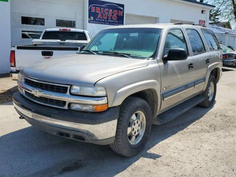 2003 Chevrolet Tahoe for sale at Ericson Auto in Ankeny IA