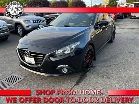 2015 Mazda MAZDA3 for sale at Auto 206, Inc. in Kent WA