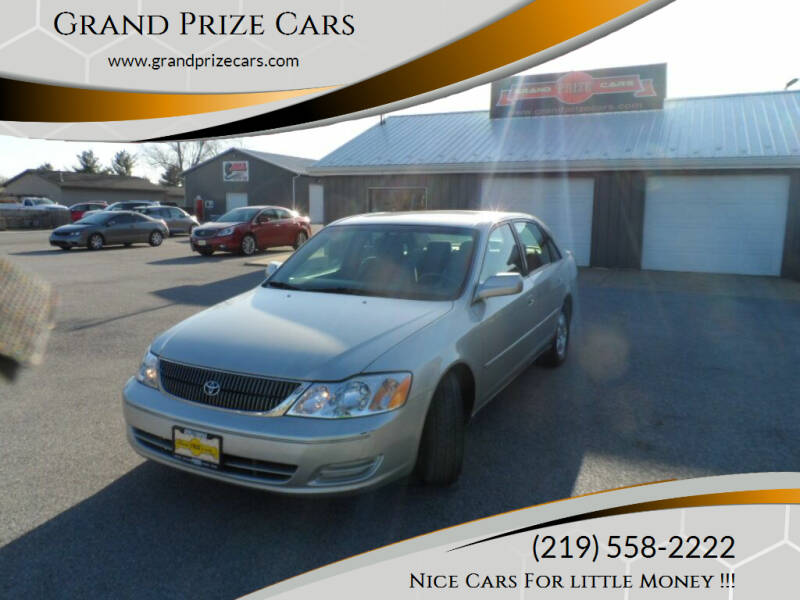 2000 Toyota Avalon for sale at Grand Prize Cars in Cedar Lake IN