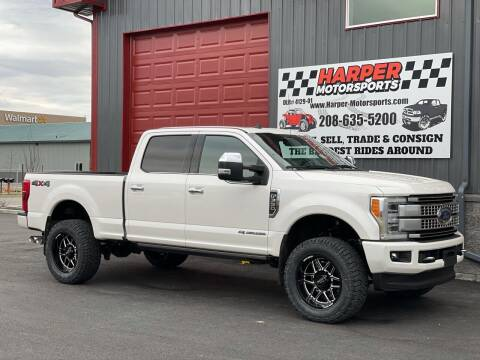 2019 Ford F-350 Super Duty for sale at Harper Motorsports-Powersports in Post Falls ID
