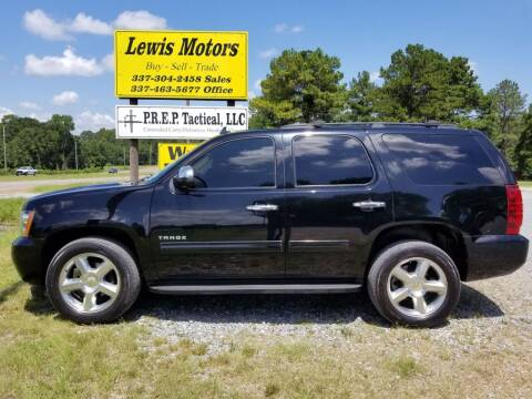 2013 Chevrolet Tahoe for sale at Lewis Motors LLC in Deridder LA