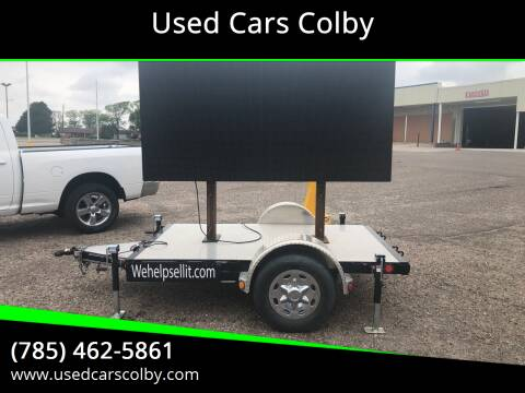 2016 PJ Digital Billboard Trailer for sale at Used Cars Colby in Colby KS