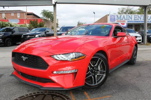 2021 Ford Mustang for sale at MIKEY AUTO INC in Hollis NY