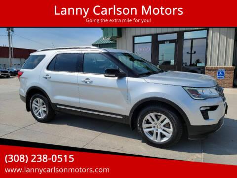 2018 Ford Explorer for sale at Lanny Carlson Motors in Kearney NE