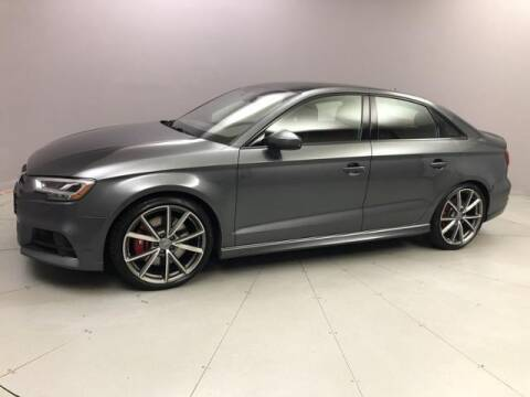 2018 Audi S3 for sale at J & M Automotive in Naugatuck CT