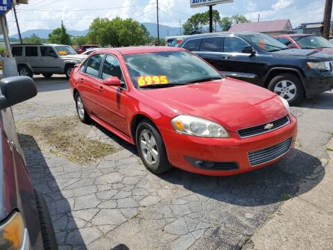 2011 Chevrolet Impala for sale at Ellis Auto Sales and Service in Middlesboro KY