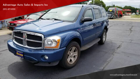 2005 Dodge Durango for sale at Advantage Auto Sales & Imports Inc in Loves Park IL