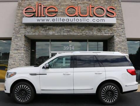 2021 Lincoln Navigator for sale at Elite Autos LLC in Jonesboro AR