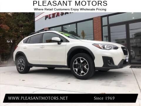 2019 Subaru Crosstrek for sale at Pleasant Motors in New Bedford MA