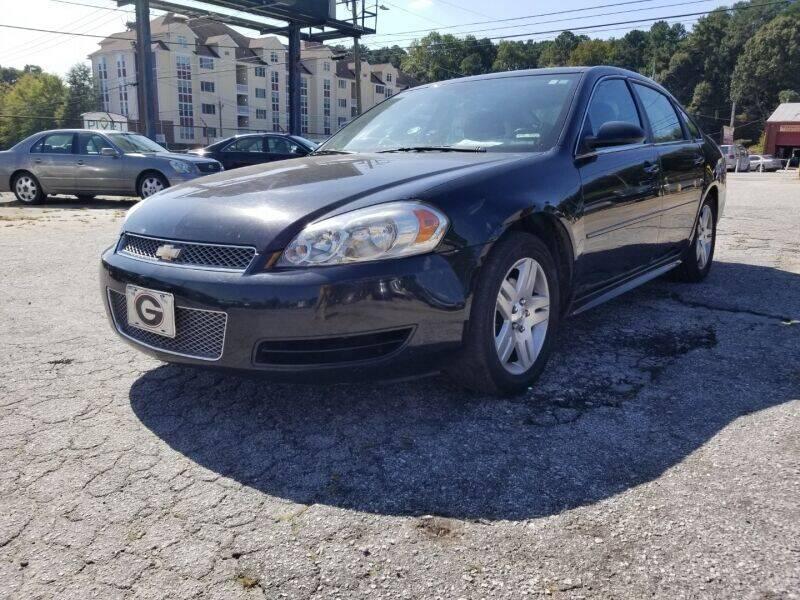 2014 Chevrolet Impala Limited for sale at DREWS AUTO SALES INTERNATIONAL BROKERAGE in Atlanta GA