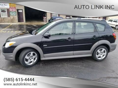 2008 Pontiac Vibe for sale at Auto Link Inc in Spencerport NY