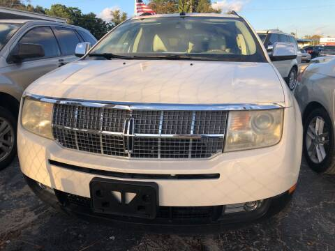 2007 Lincoln MKX for sale at Louie's Auto Sales in Leesburg FL