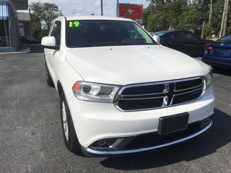2019 Dodge Durango for sale at Dad's Auto Sales in Newport News VA