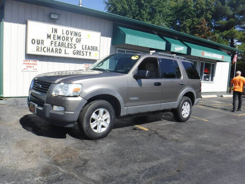 2006 Ford Explorer for sale at GRESTY AUTO SALES in Loves Park IL