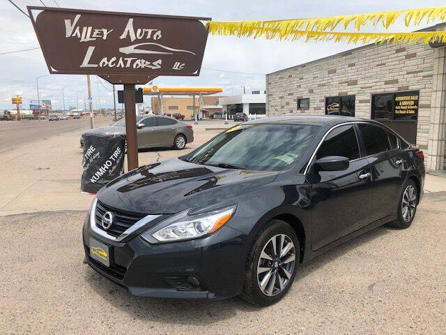2017 Nissan Altima for sale at Valley Auto Locators in Gering NE