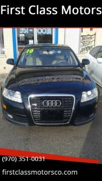 2010 Audi A6 for sale at First Class Motors in Greeley CO