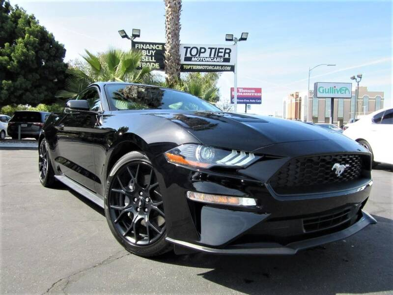 2019 Ford Mustang for sale at Top Tier Motorcars in San Jose CA