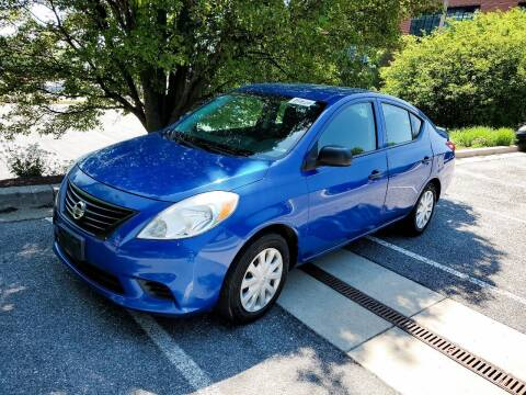 2013 Nissan Versa for sale at Auto Wholesalers Of Rockville in Rockville MD