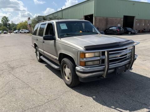 1999 Chevrolet Tahoe for sale at Ganley Chevy of Aurora in Aurora OH