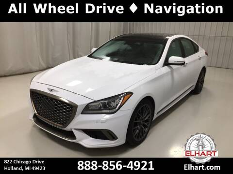2019 Genesis G80 for sale at Elhart Automotive Campus in Holland MI