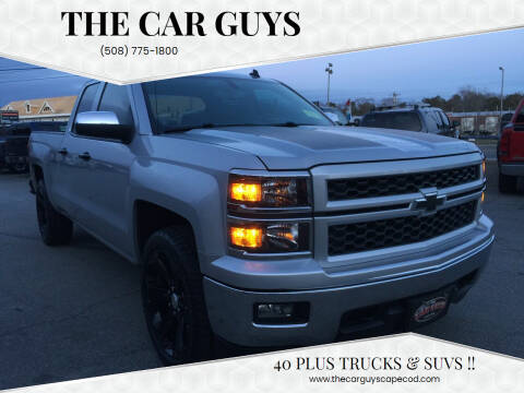 2014 Chevrolet Silverado 1500 for sale at The Car Guys in Hyannis MA