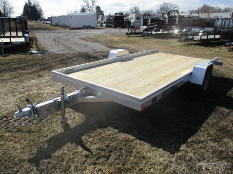 2021 Aluma Aluminum Single Axle Utility 7 for sale at Rondo Truck & Trailer in Sycamore IL