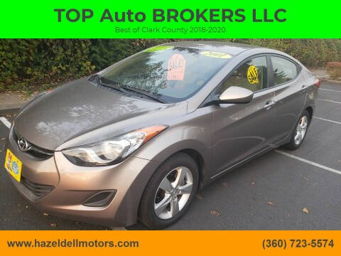 2011 Hyundai Elantra for sale at TOP Auto BROKERS LLC in Vancouver WA