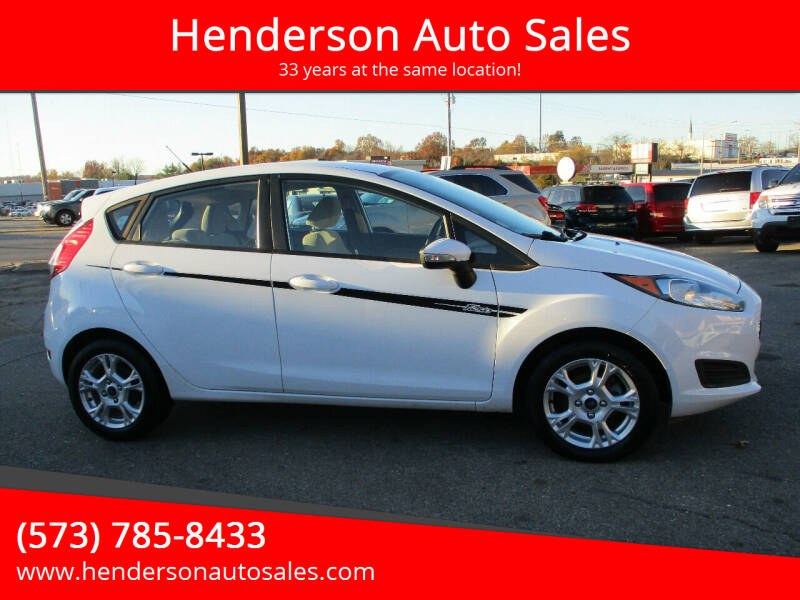 2014 Ford Fiesta for sale at Henderson Auto Sales in Poplar Bluff MO