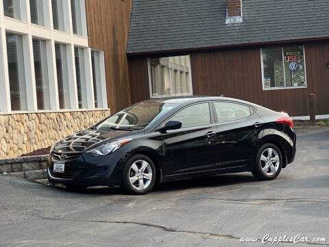 2013 Hyundai Elantra for sale at Cupples Car Company in Belmont NH