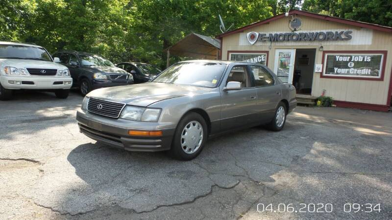1997 Lexus LS 400 for sale at E-Motorworks in Roswell GA