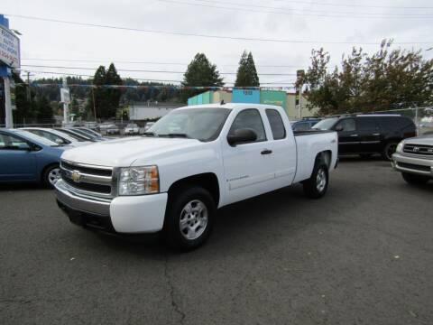 2008 Chevrolet Silverado 1500 for sale at ARISTA CAR COMPANY LLC in Portland OR