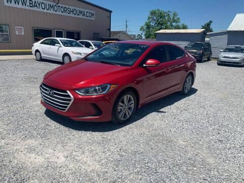 2017 Hyundai Elantra for sale at Bayou Motors Inc in Houma LA