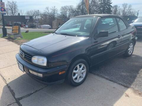 1995 Volkswagen Cabrio for sale at Tonka Auto & Truck in Mound MN