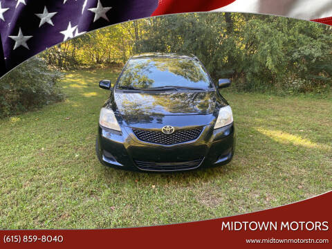 2012 Toyota Yaris for sale at Midtown Motors in Greenbrier TN