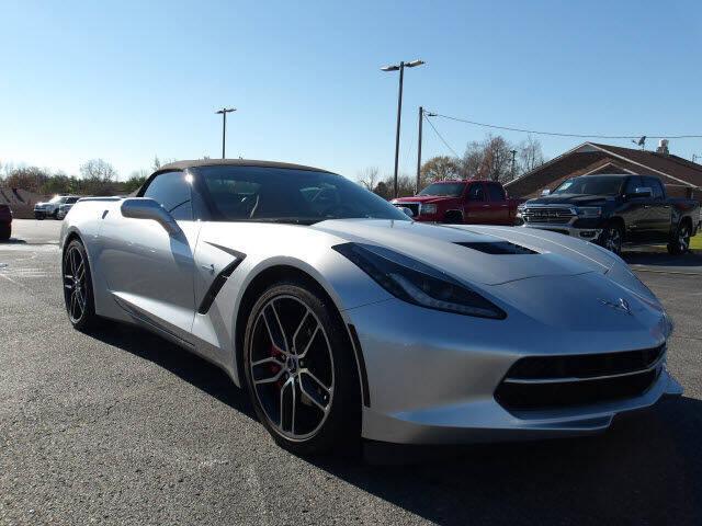 2018 Chevrolet Corvette for sale at TAPP MOTORS INC in Owensboro KY