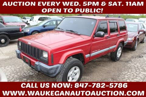 1999 Jeep Cherokee for sale at Waukegan Auto Auction in Waukegan IL