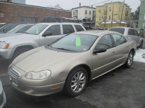 2002 Chrysler Concorde for sale at MERROW WHOLESALE AUTO in Manchester NH