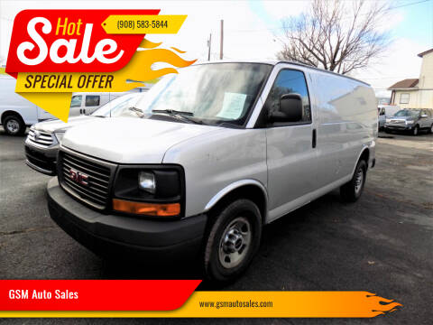 2015 GMC Savana Cargo for sale at GSM Auto Sales in Linden NJ