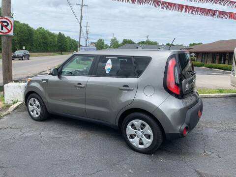 2014 Kia Soul for sale at Clarks Auto Sales in Connersville IN